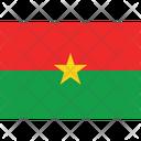 Flag Country Burkina Faso Icon