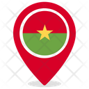 Burkina Faso Country National Icon