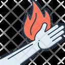 Burn Burnout Injury Icon