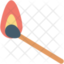 Burn Stick Fire Icon