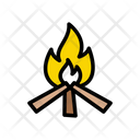 Burn Woods Fire Icon