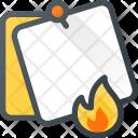 Burn Fire Task Icon