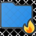 Burn Directory Folder Icon