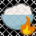 Food Calories Burn Burn Icon