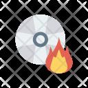 Burn Disk Icon