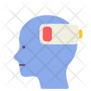 Burn Out Mental Health Disorder Icon