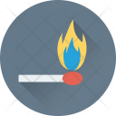 Burn Stick Fire Icon
