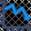 Burndown Chart Icon