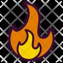 Calories Burned Fire Calories Burn Icon