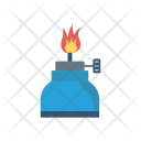 Burner Fire Cooking Icon