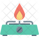 Burner Cooking Gas Icon