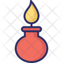 Research Burner Science Icon