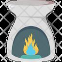 Burner Spa Fire Icon