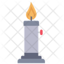 Burner Flame Candle Icon