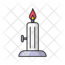 Burner Candle Flame Icon
