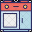 Burner Stove Kitchen Icon