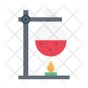 Lab Flask Burner Icon