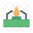 Burner Fire Flame Icon