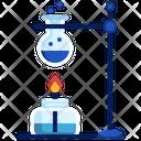 Burner Burner Science Experiment Icon