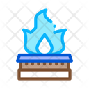 Gas Kitchen Burner Icon