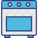 Burner Oven Icon