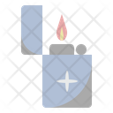 Burning Camping Fire Icon