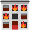 Burning Fire Flame Icon
