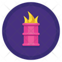 Burning Barrel Icon