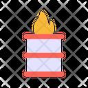 Burning Barrle Icon