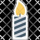 Burning Candle Candle Decoration Icon