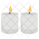 Burning Candle Candlelight Candle Flame Icon
