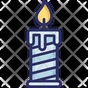 Burning candle Icon
