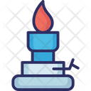 Burning Candle Candle Candle Flame Icon