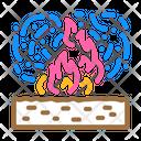 Burning Field Burning Field Icon