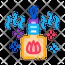 Burning Gas Fuel Icon