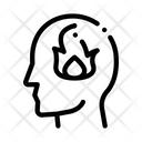 Burning Mind Icon