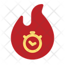 Burning Sale Icon