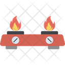 Burning Stove Icon