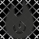 Burning time Icon