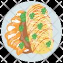 Burrito Mexican Italiano Icon