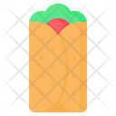 Burrito Tortilla Fast Icon