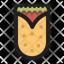 Burito Bread Mexican Icon