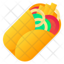 Burrito Roll Food Icon