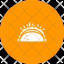 Burrito Wheat Tortilla Icon