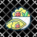 Color Icon Burrito Icon