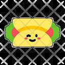 Burrito Tortilla Wrap Tortilla Burrito Icon