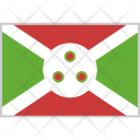 Burundi Flag Country Icon