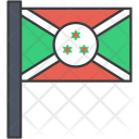 Burundi African Country Icon
