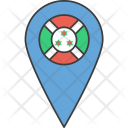 Burundi African Country Icon