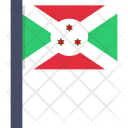 Burundi National Country Icon